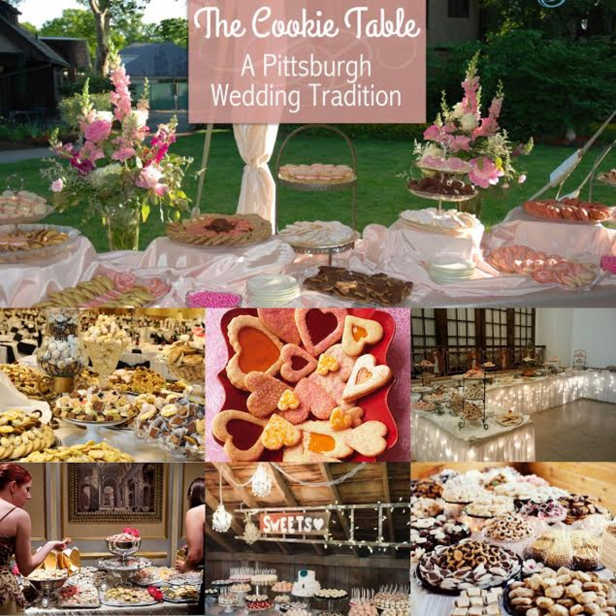 cookies table at a weddingwhat if youve been to a pittsburgh wedding youve experienced the joy and pleasure of a cookie table
