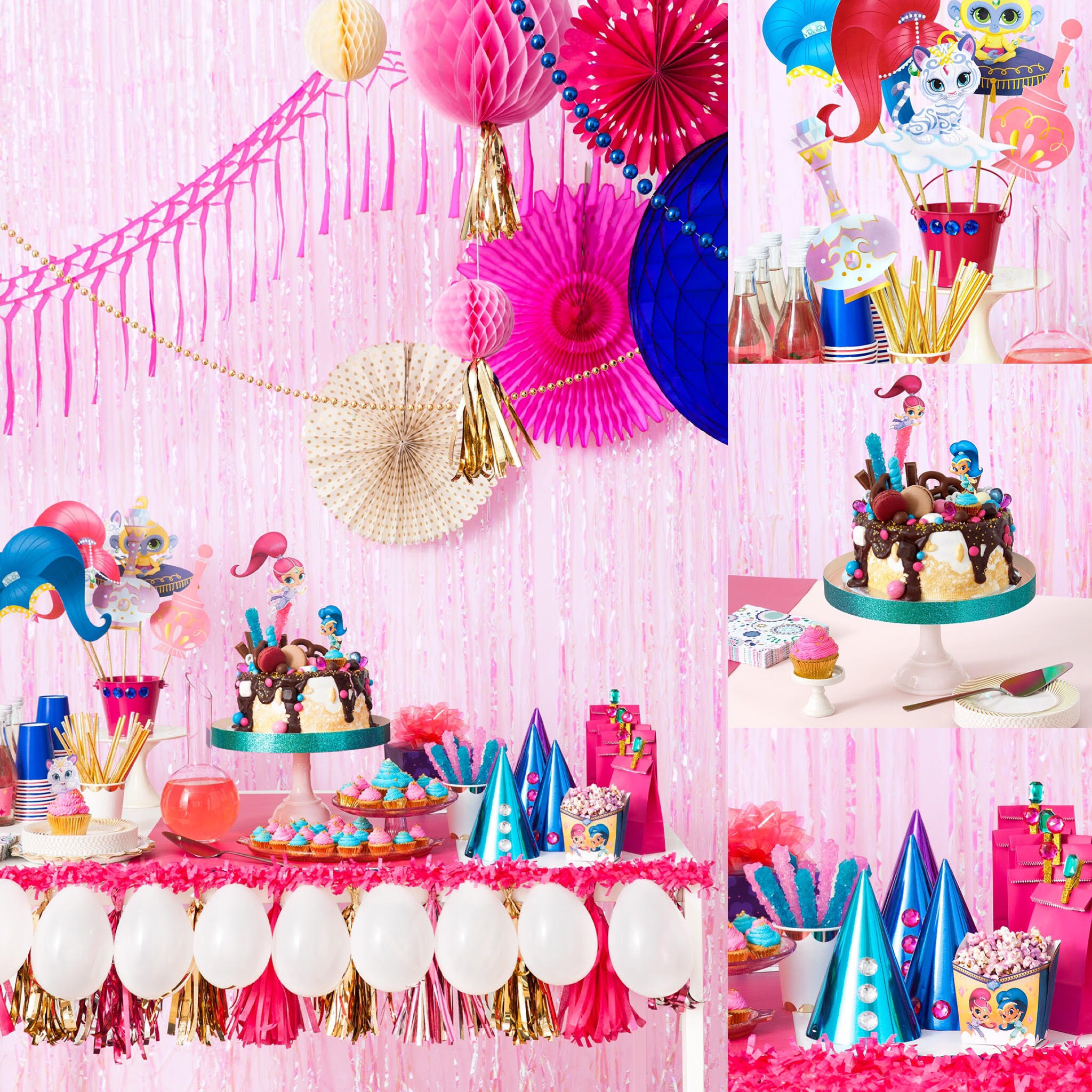 How To Throw A Sparkly Shimmer And Shine Birthday Party Nickelodeon Parents